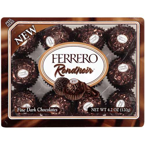 Snacks Candies Ferrero Rondnoir Fine Dark Chocolates