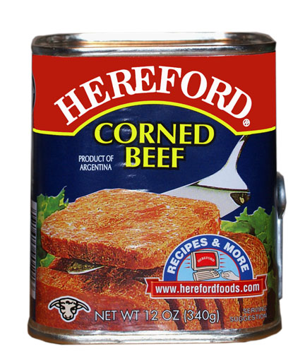 CANNED GOODS :: MEAT :: Hereford Corned beef, 12 oz. - BayaniStore