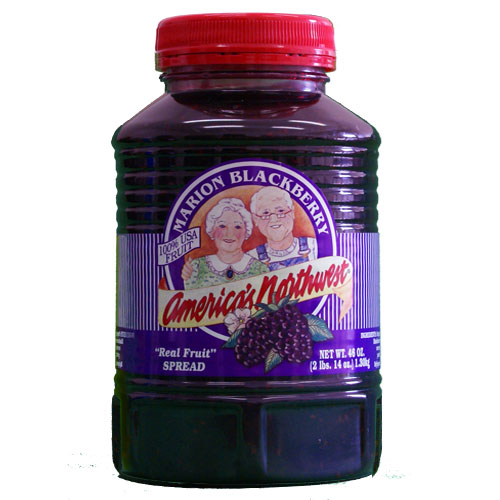 Condiments American Northwest Marion Blackberry Real