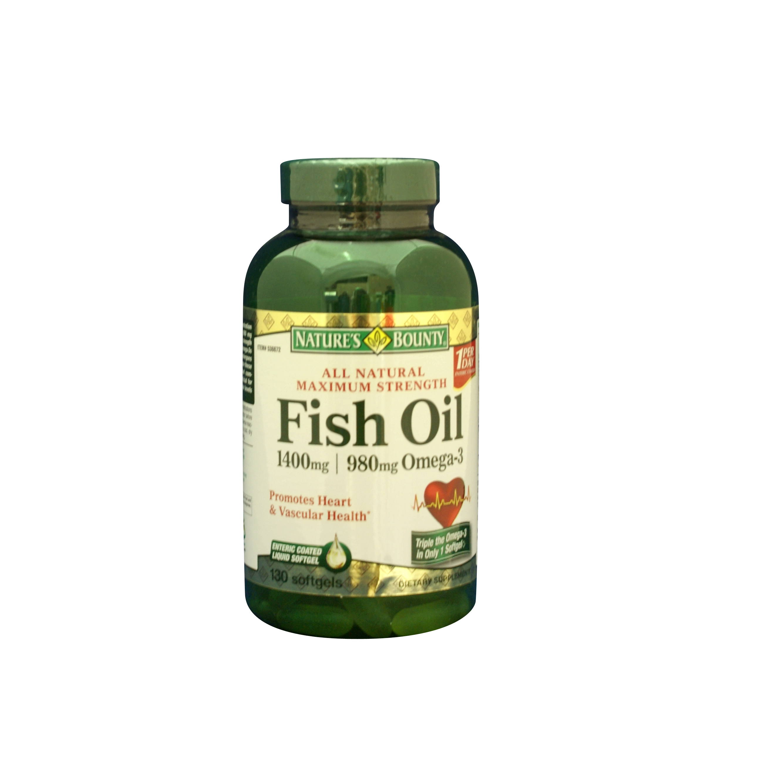 Health and beauty vitamins nature 39 s bounty maximum for Fish oil pills