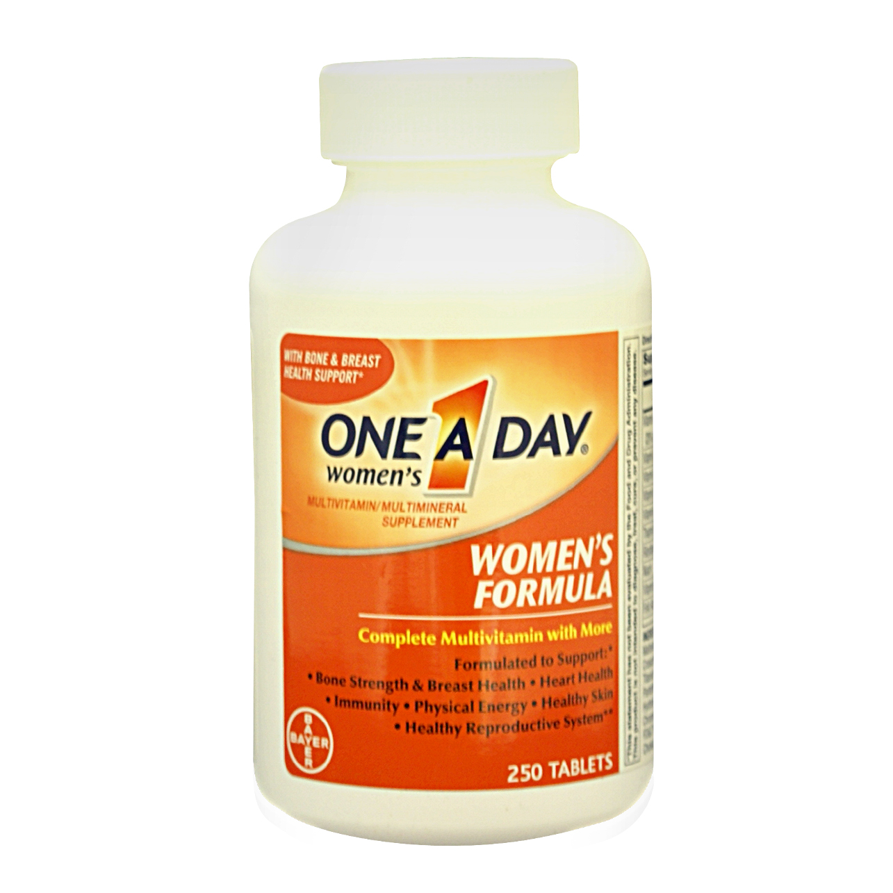 health and beauty vitamins one a day women  s formula