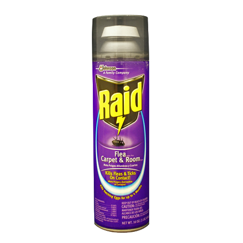 For The Home Cleaning Raid Flea Killer Plus Carpet